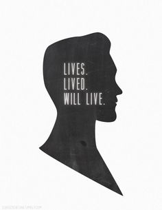 "Robert Lutece from Bioshock Infinite wall hanging ""Lives. Lived. Will Live,"" quote."