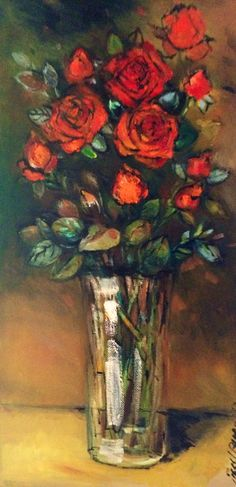 Red roses byLiesel Brune