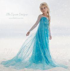 Size 2/3T HALLOWEEN DELIVERY Elsa Dress Size 2T-3T by EllaDynae