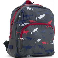 aa464a8f4d8 Rugzak haaien, Zebra Trends #rugzak #jongen #jongensrugzak #zebratrends  #haai #schooltas. Engeltjes & Draken