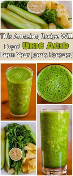 This Amazing Recipe Will Expel Uric Acid From Your Joints Forever! Prepare It Today!