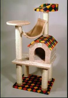 petpals 31 x 26 x 27 cat furniture with nest crown  u0026 platform  u0026 condo   small   pp1134   kitty wish list   pinterest   cat furniture condos and nest petpals 31 x 26 x 27 cat furniture with nest crown  u0026 platform      rh   pinterest