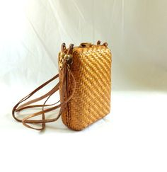 1960s Dorian Continental Basket Box Purse