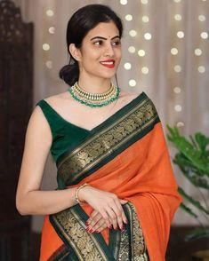 South Indian Sarees, Indian Lehenga, Indian Silk Sarees, Mysore Silk Saree, Banarasi Sarees, Bollywood Saree, Bollywood Fashion, Soft Silk Sarees, Cotton Saree