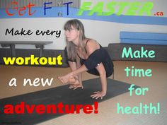 Move to feel good! Try our free yoga workout and many more View It & Do It Circuit Workouts @ www.getfitfaster.ca Fitness Motivation Network. Login/join free @ www.getfitfaster.ca