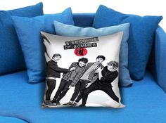 5 Second Of Summer Photoshot Pillow Case #pillow #case #pillowcase #custompillow #custom
