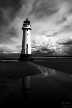 Brighton Lighthouse Near Liverpool, Lighthouse by Fusion-Fire-GFX.deviantart.com on @deviantART