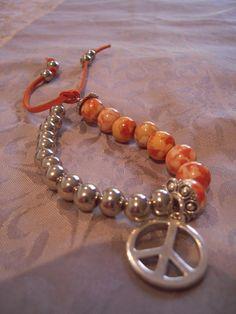 Coral Boho Bracelet