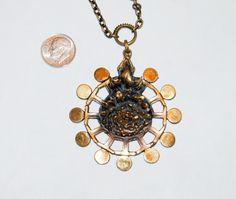 July SUPER Sale Vintage Pentti Sarpaneva Modern by Savesitall Baby Jewelry, Jewelry Box, Fine Jewelry, Jewelry Necklaces, Women Jewelry, Jewelry Making, Pendant Jewelry, Pendant Necklace, Bronze Pendant