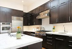 Chocolate Cabinets Design Ideas, Pictures, Remodel, and Decor - page 7