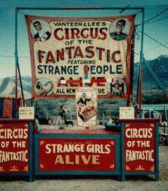 Vintage Circus Sideshow