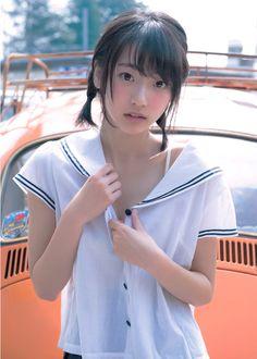Beautiful Asian Girls - Her Crochet Asian Cute, Cute Asian Girls, Cute Girls, School Girl Japan, Japan Girl, High School Girls, Beautiful Japanese Girl, Beautiful Asian Women, Schoolgirl Style