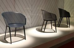 Bouroullec's Stampa chair designed to age like a pair of leather boots.
