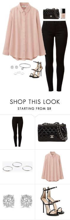 """""""Untitled #171"""" by jordanraestyle ❤ liked on Polyvore featuring Dorothy Perkins, Uniqlo, Effy Jewelry, Giuseppe Zanotti and Michael Kors"""