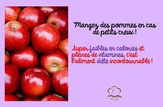 Pour le goûter, on opte pour une pomme désormais :)