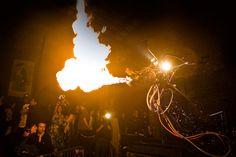 Fire-Breathing Scrapheap Challenge Dragon Robot