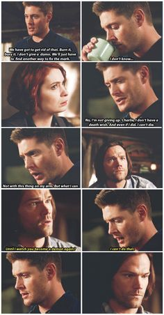 """""""Look, I wanted it to be the answer too, okay? I really did."""" - 10x18 Book of the Damned [gifset]"""