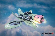 ArtStation - Dieselpunk Plane / Korzhov , Artem Korzhov