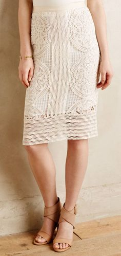 Arc Lace Skirt