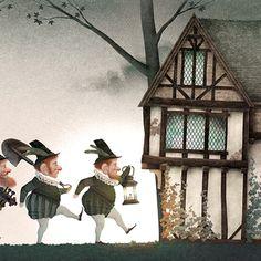 """Blancanieves"" - Illustrations by Iban Barrenetxea Fantasy Kunst, Fantasy Art, Stories For Kids, Fantasy World, Folklore, Paper Dolls, Fairy Tales, Gothic, Clip Art"