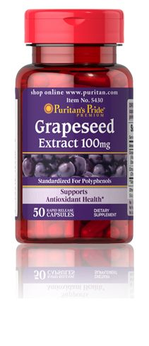 Grapeseed Extract 50-100mg daily.  Improves brain function, bonds with collagen