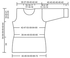 """Gehäkelter DROPS Pulli in """"Safran"""" und """"Cotton Viscose"""". Grösse S - XXXL. ~ DROPS Design"""