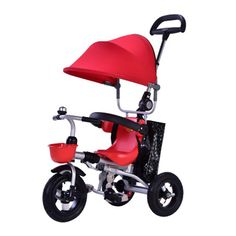 0e4a67dd384 Ydq Kids Trike,Stroller Baby Tricycle With Rotating And Reclining Seat For  Children To Sleep