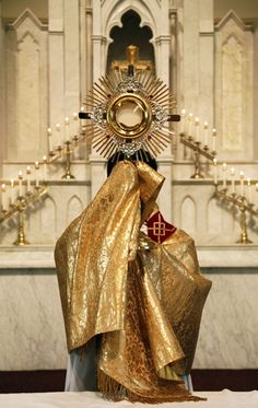 Oh come, let us adore Him... God's grace is powerful in the Eucharist (Sacramental Grace)