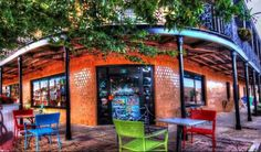 Page & Pallet bookstore in downtown Fairhope, Alabama