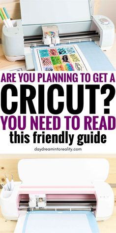 What is a Cricut & 50+ Things you Need to Know before Buying one | Cricut, Best cricut machine, Cric