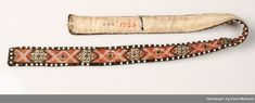 Belte - Hardanger og Voss Museum / DigitaltMuseum Beadwork, Museum, Belt, Accessories, Hardanger, Belts, Pearl Embroidery, Museums, Jewelry Accessories