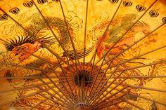 Thai umbrella Web Creation, Life Crisis, Thailand, Tours, Spaces, Paper, Silk