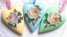 Group of Three Hearts by art angel 1, via Flickr