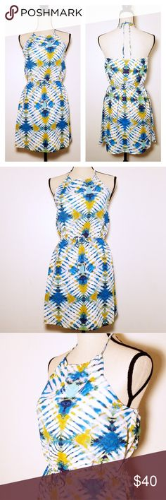 I just added this listing on Poshmark: NWT Jack by BB Dakota Tie Dye Halter Dress. #shopmycloset #poshmark #fashion #shopping #style #forsale #Jack by BB Dakota #Dresses & Skirts