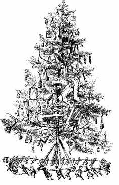 The Wonderful Christmas Tree 1882