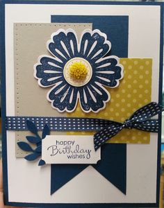 Blue Bday - Scrapbook.com