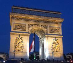 Arc de Triomphe / Paris, France Photo by Celia Persechino // Simply Paris: With 6 Simple Tips at happiestwhenexploring . Paris Travel Tips, France Photos, My Land, Paris France, Big Ben, Traveling, Explore, City, Simple