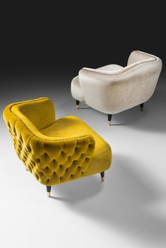 Add style to any setting with the Italian Designer Velvet Tub chair. Seductive, every inch a statement of outstanding elegance and design. To suit both a classic or contemporary interior, a touch of sophistication and opulence which creates the most striking outline. Available with or without button upholstery as shown. Timeless glamour! #interiordesign #tubchairs