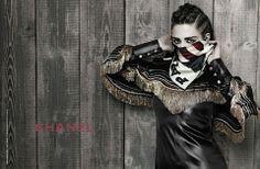 Kristen Stewart in Chanel pre-fall 2014 campaign