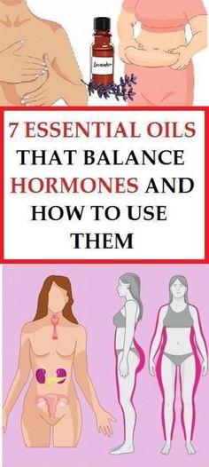 7 Essential Oils That Balance Hormones .!