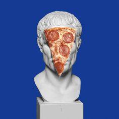 #caesar #pizza #yyy #club #art #digital #composing #blue