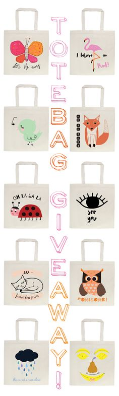 WIN a tote bag from Artibonita! Just like the facebook page and fill in your name and email address by clicking the link to the blog.  Increase your chances by following the Etsy shop, blog, pinterest, twitter, storenvy shop,....ENDS 30/04/2015 ❤