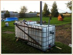 Fosa septica din rezervoare IBC - Vezi cum se face!!! Diy Septic System, Septic Tank Systems, Tiny House Plans, Mobile Home, Alternative Energy, Water Tank, Compost, Garden Furniture, Home Appliances