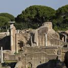 Ostia Antica: A large archeological site that was the location of the harbour city of ancient Rome.  Located in the Metropolitan City of Rome, Italy