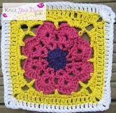 Knot Your Nana's Crochet: Granny Square CAL (Week 17)