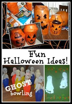 Fun Halloween ideas including games, crafting, and art!