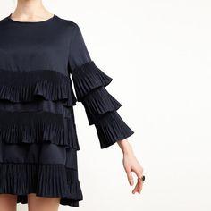 Butterfly Dark Blue Dress