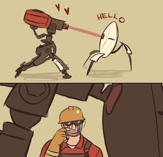 By perplexingly (Portal) x Team Fortress 2