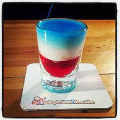 The American Flag Shot! An exclusive from BartendingSchool4... . Doesn ...