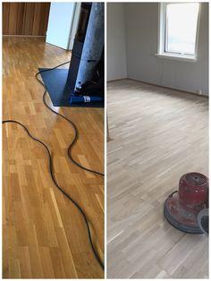 Før og etter sliping av eik parkett Rugs, Home Decor, Farmhouse Rugs, Decoration Home, Room Decor, Floor Rugs, Rug, Carpets, Interior Decorating